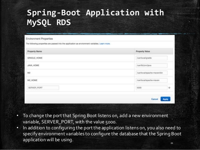 Spring boot-application
