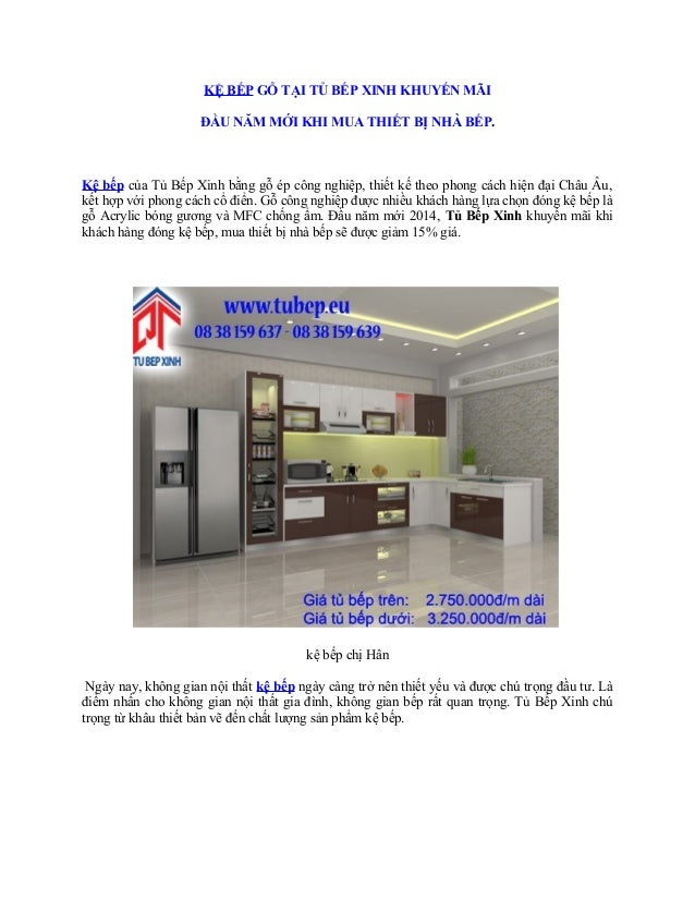 KỆ BẾP GỖ TẠI TỦ BẾP XINH KHUYẾN MÃI ĐẦU NĂM MỚI KHI MUA THIẾT BỊ NHÀ BẾP.  Kệ bếp của Tủ Bếp Xinh bằng gỗ ép công nghiệp,...