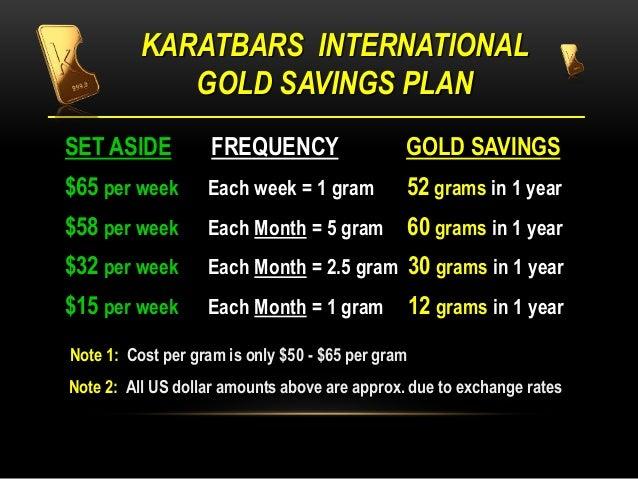 Karatbars Presentation English