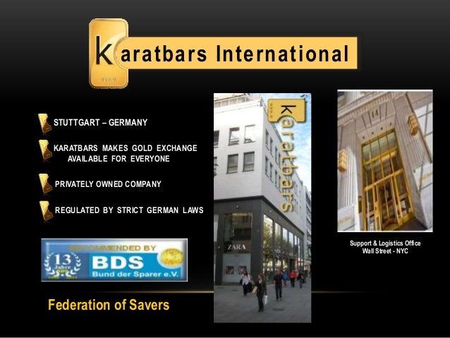 Karatbars Presentations