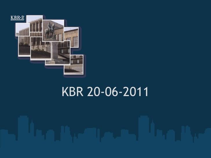 KBR 20-06-2011