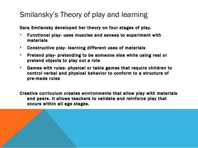 educational play theories perspectives and proposals