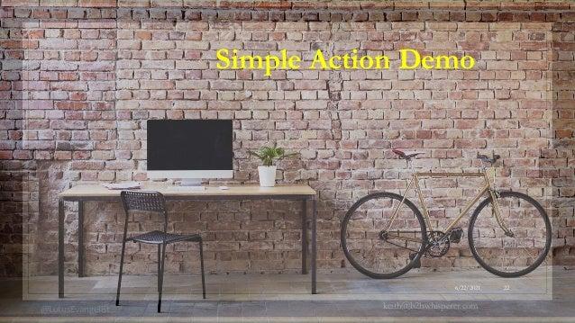 @LotusEvangelist keith@b2bwhisperer.com 6/22/2021 22 Simple Action Demo
