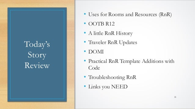@LotusEvangelist keith@b2bwhisperer.com DominoCamp 2021 – June 21 & 22 Today's Story Review • Uses for Rooms and Resources...
