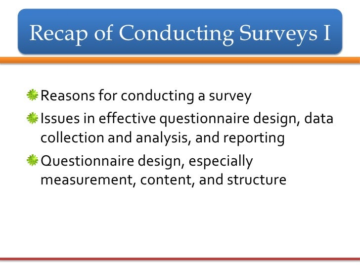 The Advantages of Surveys in the Workplace