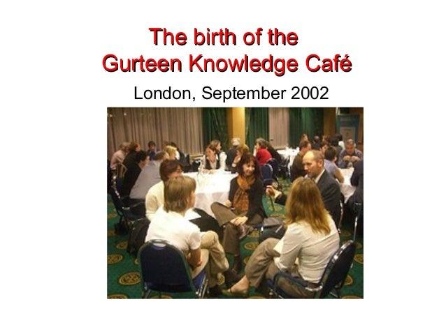 Singapore Knowledge Cafe Workshop November 2010 Slide 3