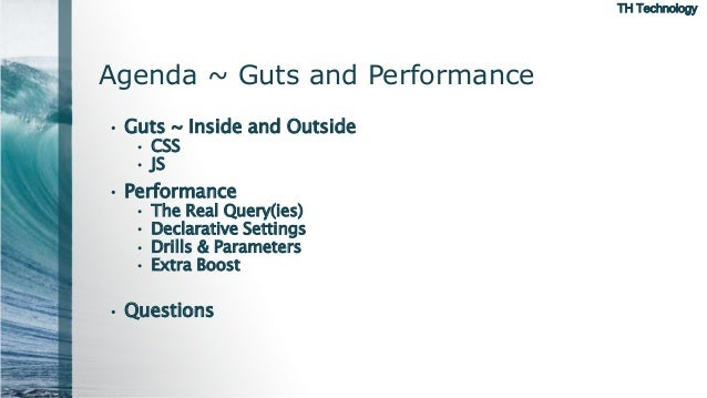 APEX 5 Interactive Reports: Guts and PErformance