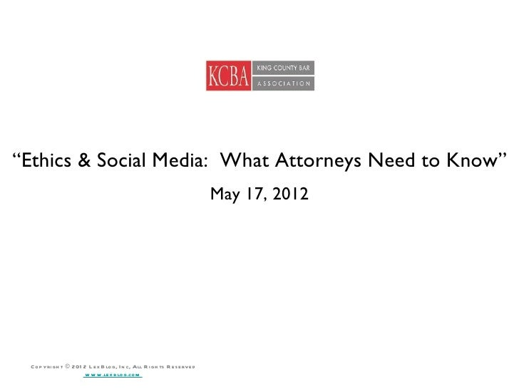 """""""Ethics & Social Media: What Attorneys Need to Know""""                                                                      ..."""