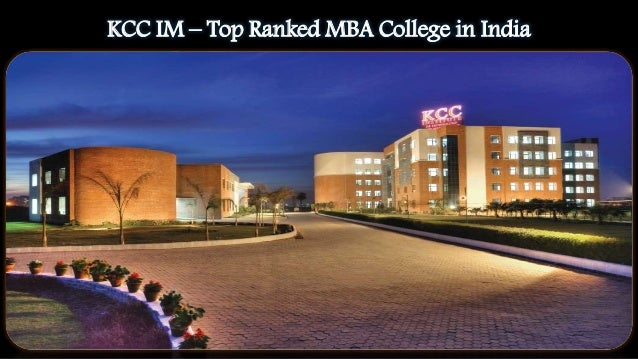 KCC IM – Top Ranked MBA College in India