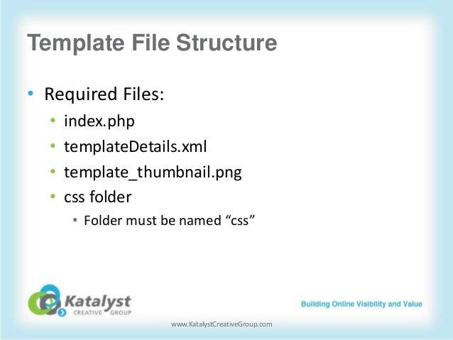 Creating Custom Templates for Joomla! 2.5