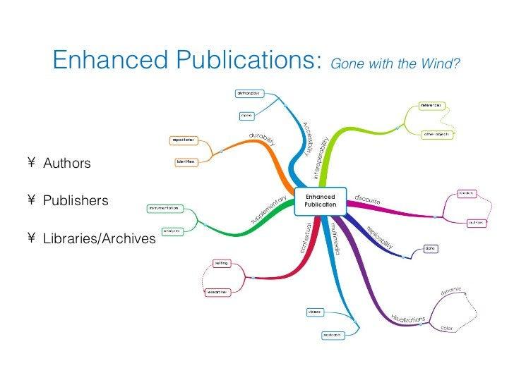 KCL CeRch presentation, enhanced scholarly publications, 27march2012