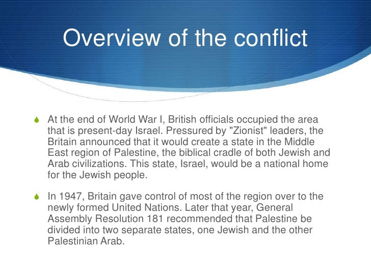 an overview of the british occupation of palestine and the israels military actions Overview june marked 50 years since israel's occupation of the palestinian territories and the start of the 11th year of its illegal blockade of the gaza strip, subjecting approximately 2 million inhabitants to collective punishment and a growing humanitarian crisis.