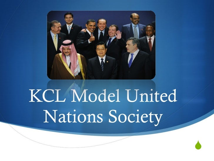 KCL Model United Nations Society