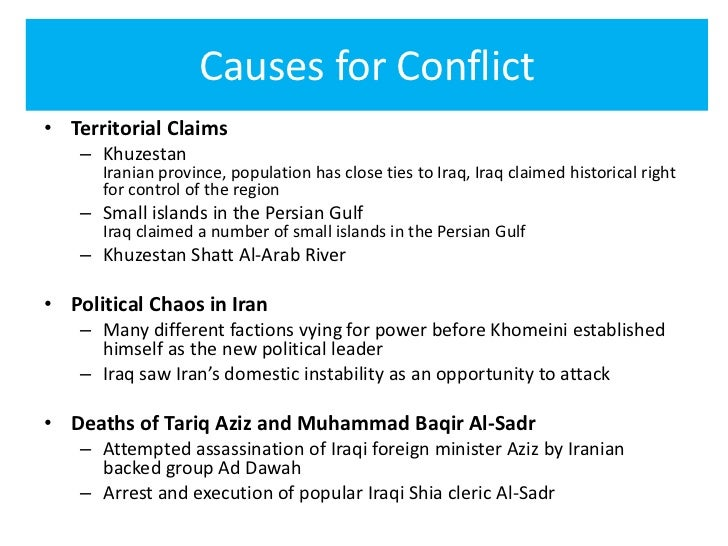 Causes of iraq war