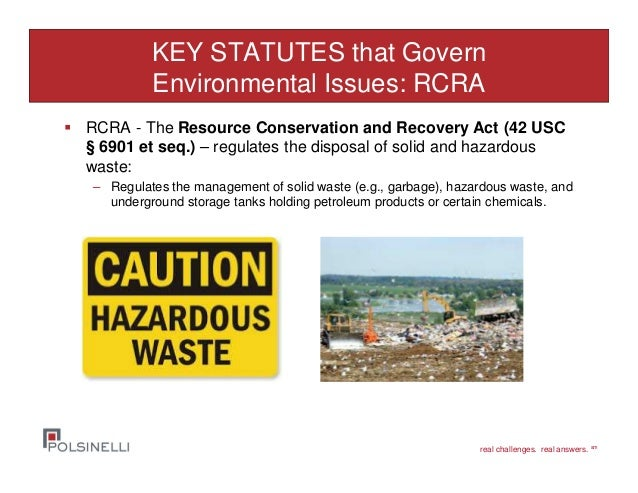 Environmental Issues In Real Estate Transactions