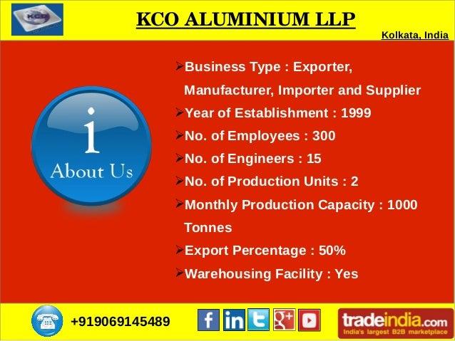 Aluminum Foils Supplier in Kolkata   KCO ALUMINIUM LLP Slide 2