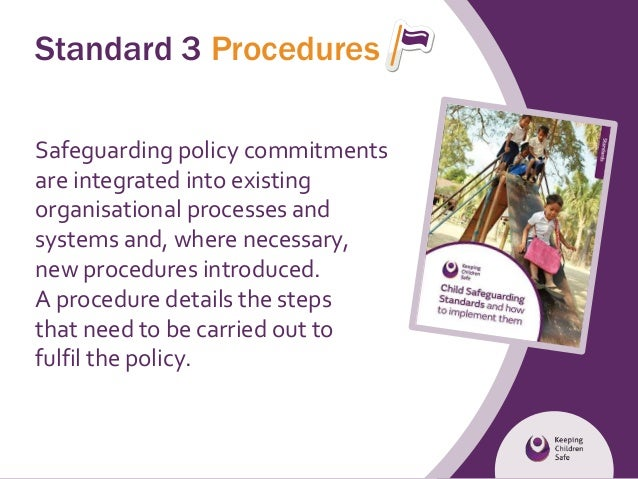 the impact of child safeguarding policies Safeguarding covers many different aspects of school life, and it can be hard to evidence the impact of policies and practice yet unless the impact is identified, it is impossible to know whether the practice is the best it can be.