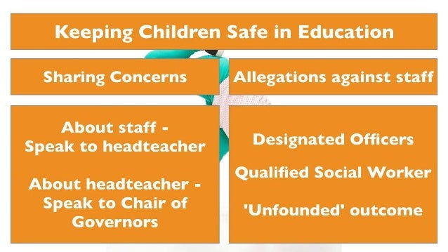 Keeping Children Safe In Education Statutory