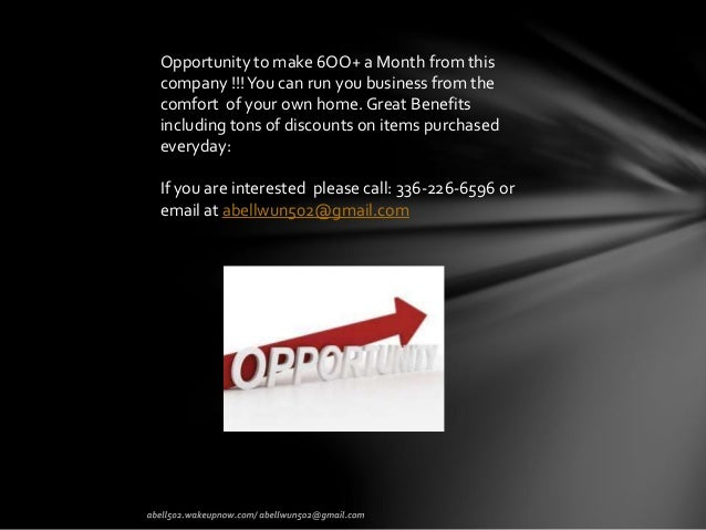 Are you interested on getting great discount and earning extra money??? Slide 2