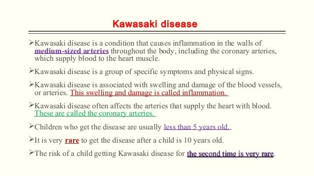 Kawasaki Disease Pathophysiology