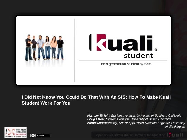 open source administration software for education next generation student system I Did Not Know You Could Do That With An ...