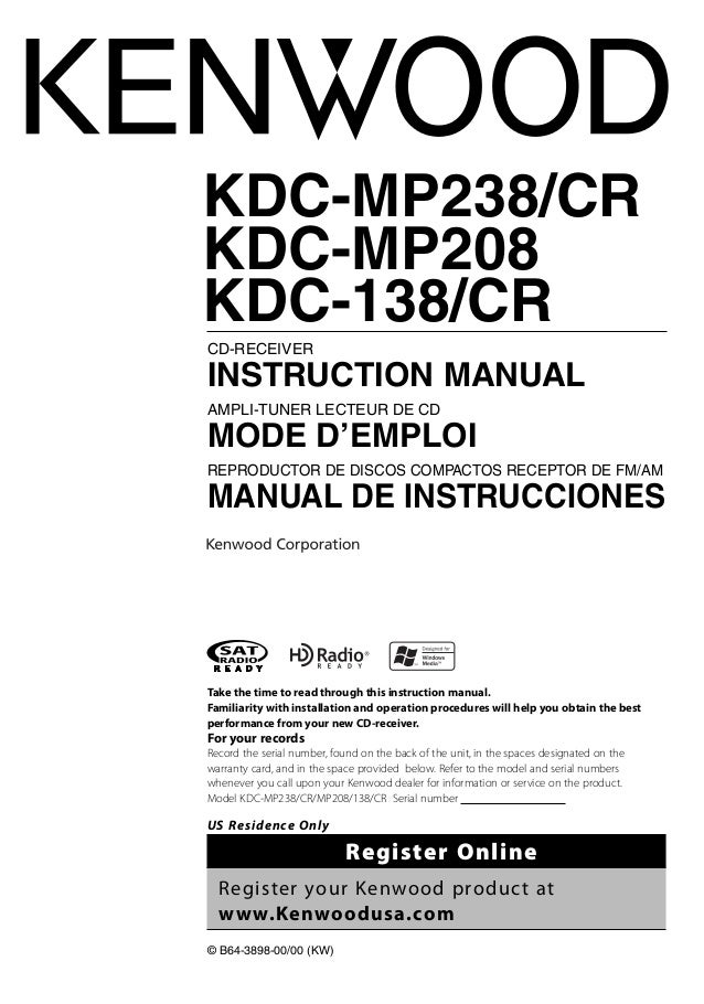 Kenwood Kdc Mp208 Wiring Harness : 32 Wiring Diagram