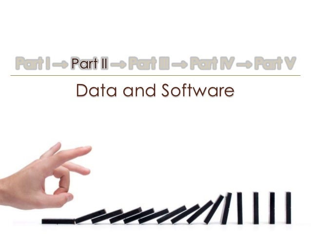 Part I → Part II → Part III → Part IV → Part V         Data and Software
