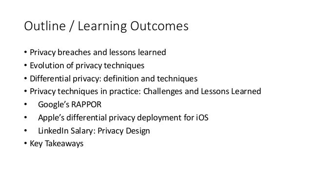 Privacy-preserving Data Mining in Industry: Practical Challenges and Lessons Learned Slide 2