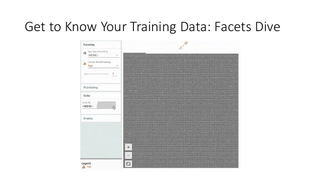 Get to Know Your Training Data: Facets Dive