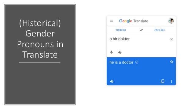 Result: Reduced Gender Bias in Translate