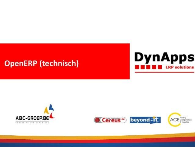 OpenERP (technisch)
