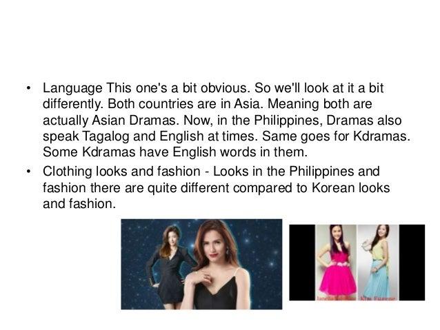 K drama vs filipino drama