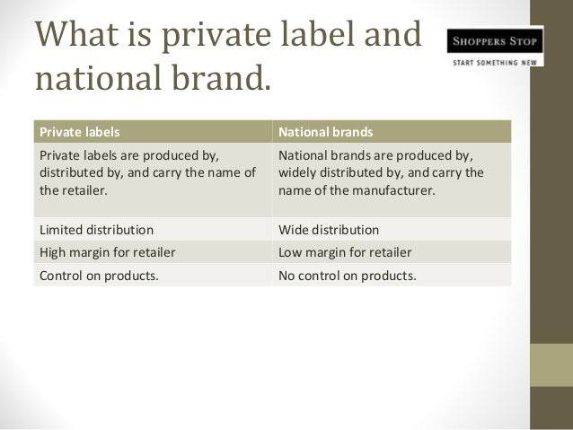 How National Brands Can Compete with Private Labels