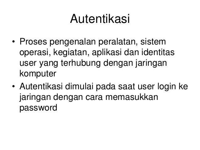 Keamanan Jaringan Komputer Slide 3