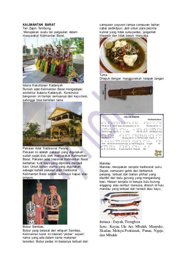 Keanekaragaman Keragaman Budaya Indonesia 34 Provinsi Dan Gambarnya