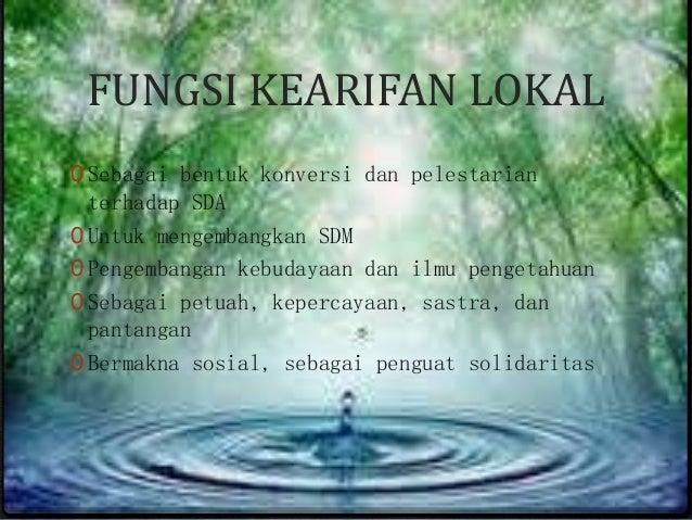 Kearifan lokal di indonesia subak Slide 3