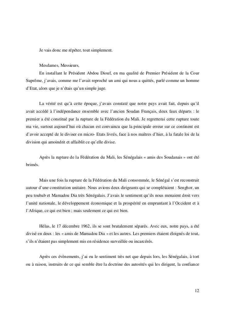 lettre de recommandation morale d un ami Kéba Mbaye – L'étique, aujourd'hui. (Une leçon de morale au Peuple) lettre de recommandation morale d un ami