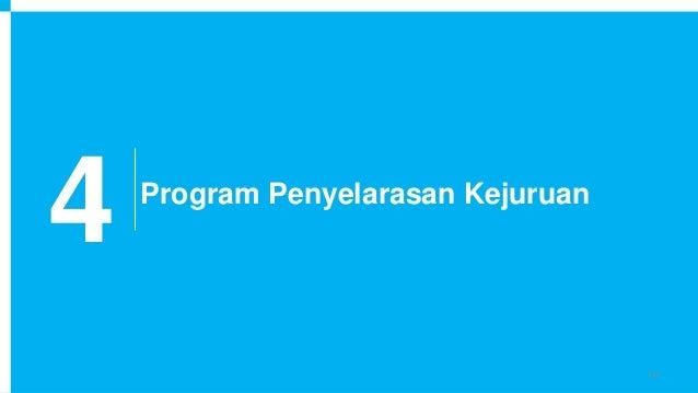 4 Program Penyelarasan Kejuruan 16