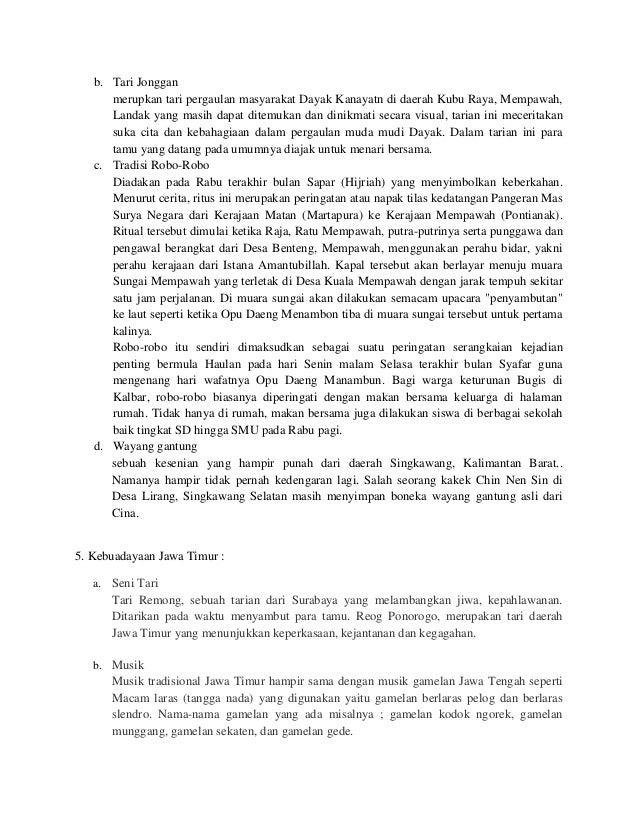 b. Tari Jongganmerupkan tari pergaulan masyarakat Dayak Kanayatn di daerah Kubu Raya, Mempawah,Landak yang masih dapat dit...