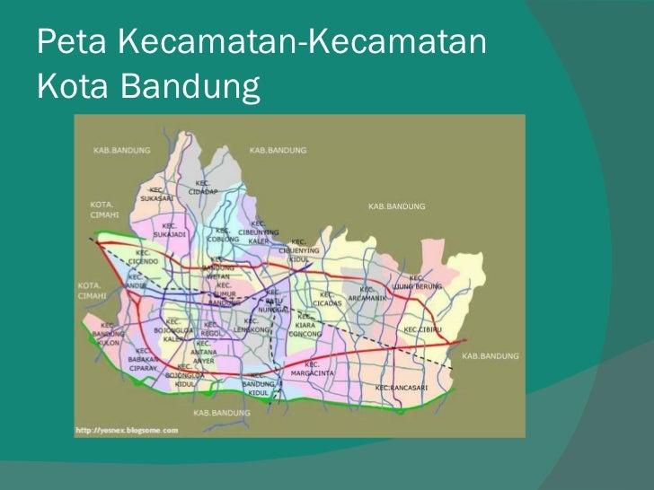 Peta Zonasi Kota Bandung - Nusagates