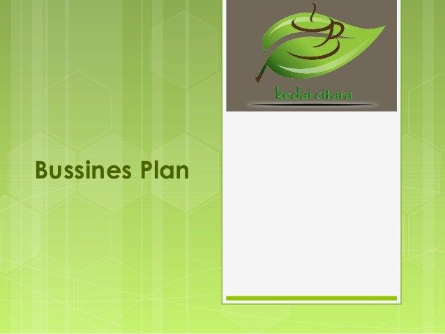 Bussines Plan