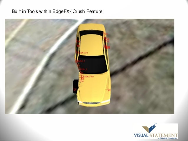 Using Scan Data of an Accident Scene and Involved Vehicles to Assist …