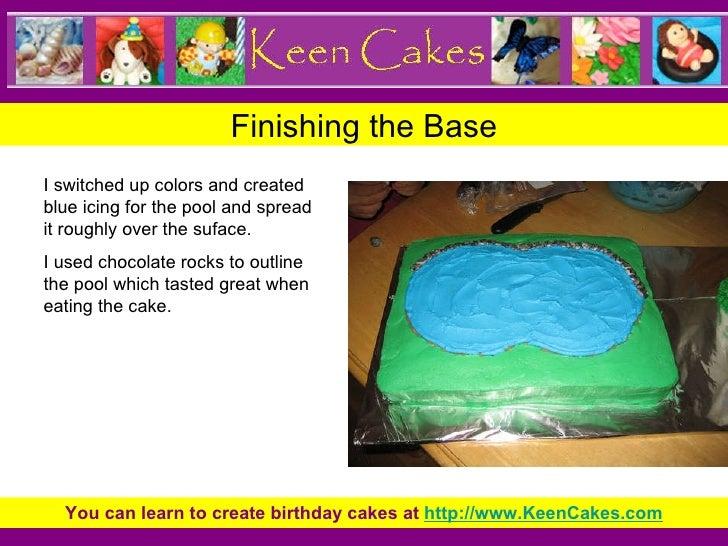 Superb Pool Party Kids Birthday Cake Funny Birthday Cards Online Alyptdamsfinfo