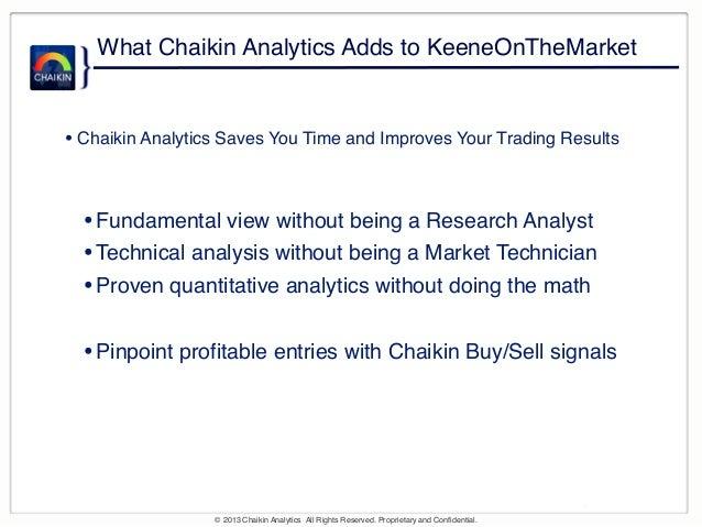 Keene on the Market with Marc Chaikin Slide 3