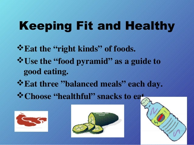 Keeping fit and health...