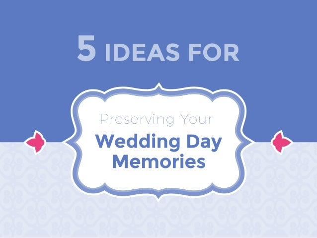 Once your wedding has come and gone, there are still many ways to keep those special moments alive. Here are some creative...