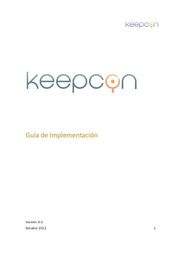 Guía de ImplementaciónVersión 6.0Octubre 2012             1