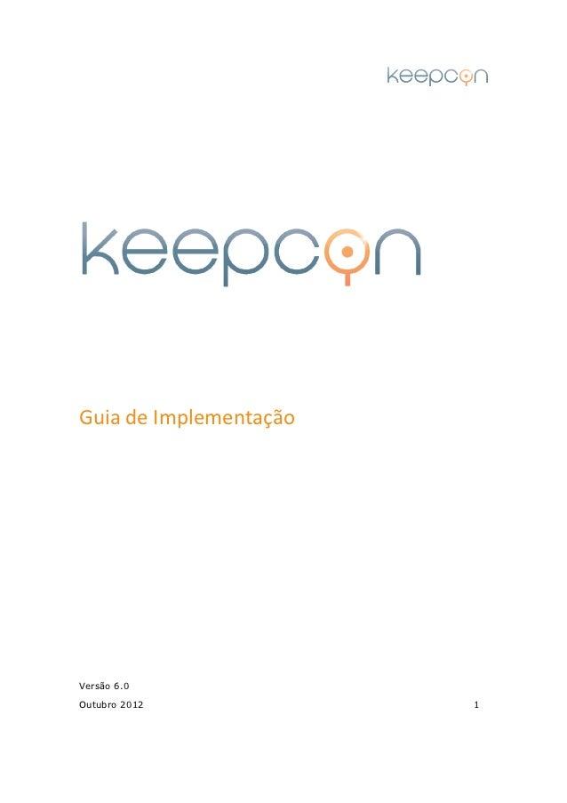 Guia de ImplementaçãoVersão 6.0Outubro 2012            1