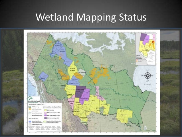 Wetland Mapping Conservation Efforts in the Fort Nelson area