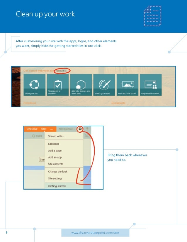 Office 365 Tip: Create a team site on SharePoint